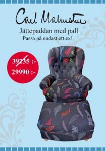 Carl Malmsten Jättepaddan specialpris