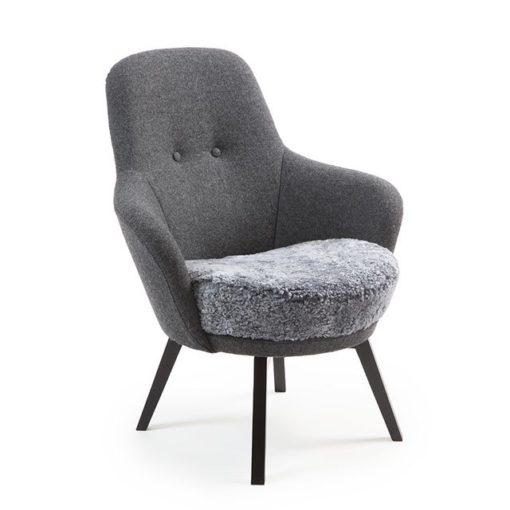 Gaga fåtölj, Conform. Östbergs möbler, Borlänge