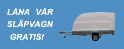 Låna släpvagn gratis! Östbergs Möbler, Säng & Möbelhus