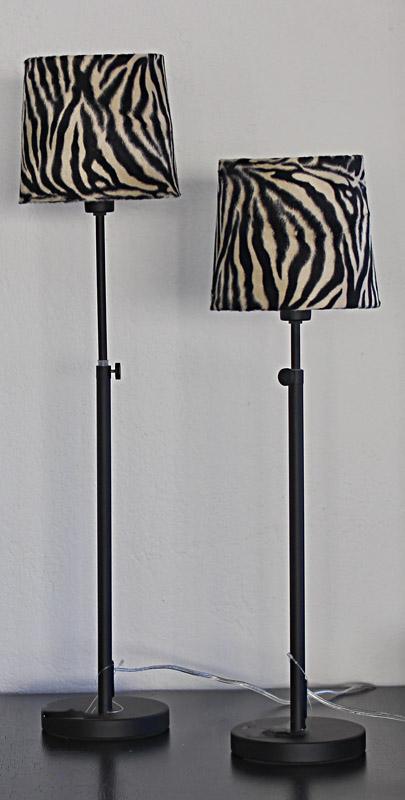 Zebra Bordlampa
