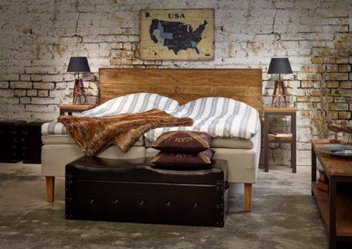 Vintage Sänggavel