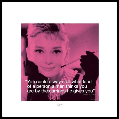 Tavlor Audrey Hepburn Inredningsdetaljer