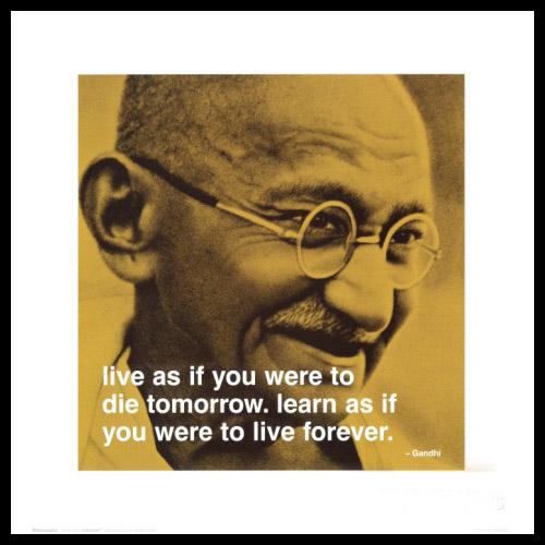Tavlor Mahatma Ghandi Inredningsdetaljer