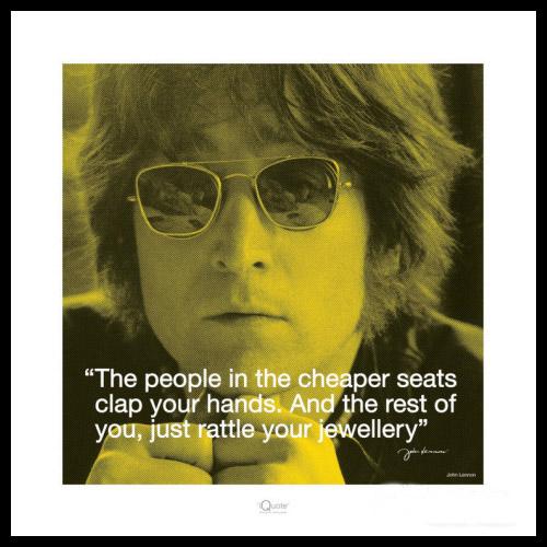 Tavlor John Lennon Inredningsdetaljer