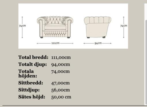 Shakleton soffa+fåtölj paketpris utställningsex