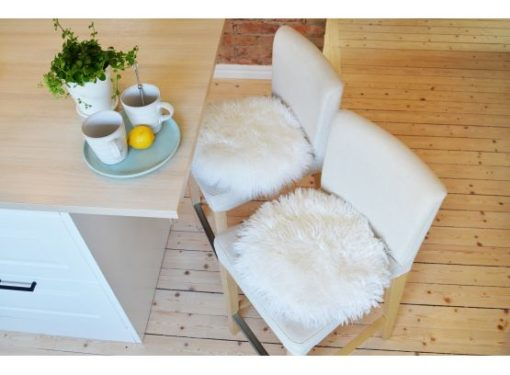 Frizzy chair white