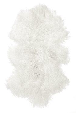 Shansi lammskinn white