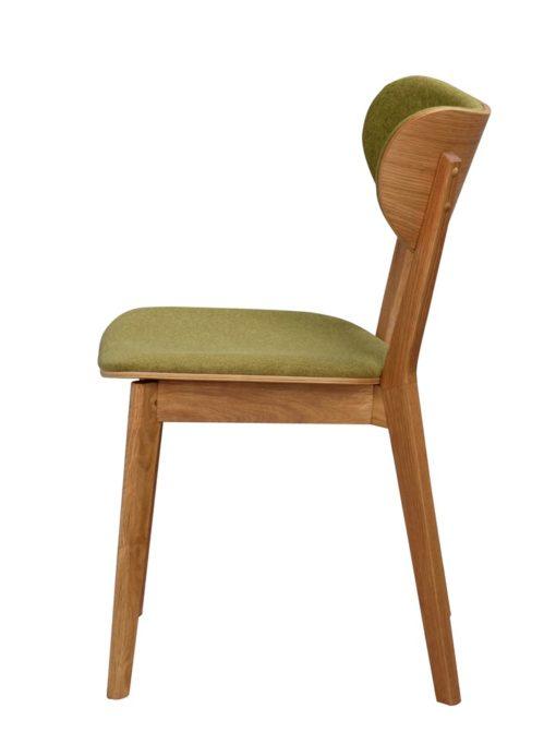 Cato stol Ek/grön