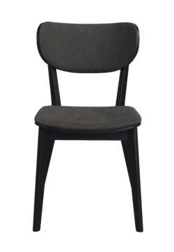 Cato stol svart grå