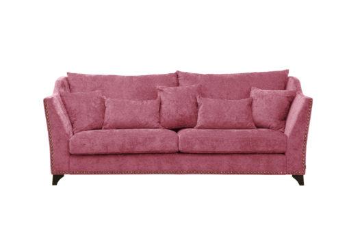 Odd style soffa rosa