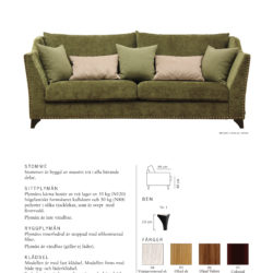 Odd style soffa