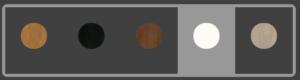Kompass Soffbord Färger