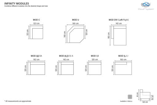 Infinity Soffa Moduler