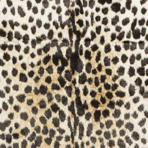 Matta med tryckt leopardmönster
