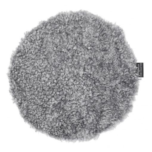 Curly Sittdyna Silvergrå