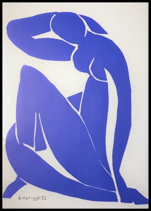 Nado Blu, Tavla, Matisse, Stormposter