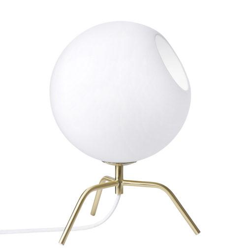Bug 15 Bordslampa Vit/Mässing