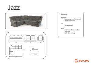 Jazz Soffa Produktblad