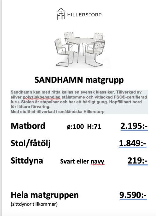 Sandhamn Matgrupp