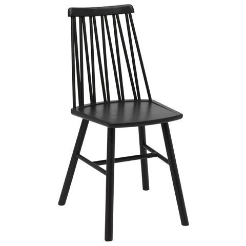 Zigzac stol svart