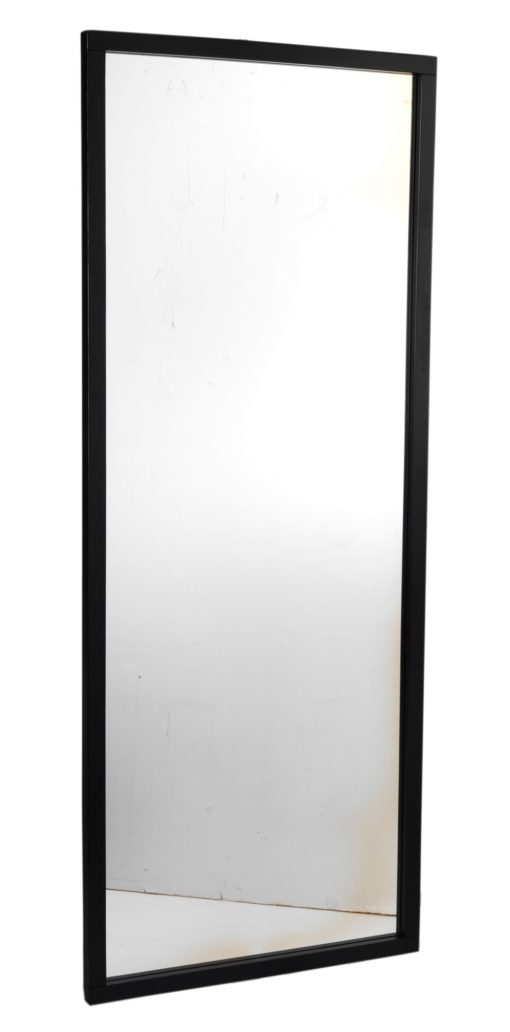 Spegel Confetti 150x60 svart
